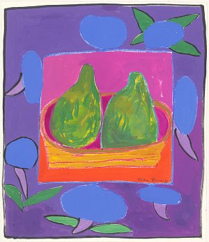 Pears and morning glories