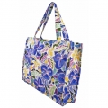 Frangipani and Morning Glories tote